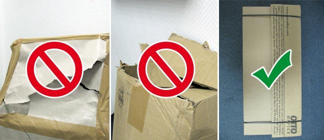 Verpackungen, Katonagen und Kartons