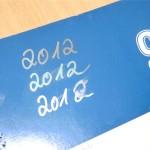 Pentel Outline Marker Schreibtest 2012