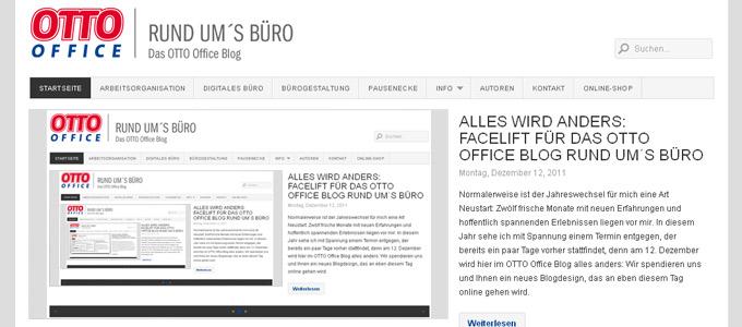 Relaunch OTTO Office Böroblog