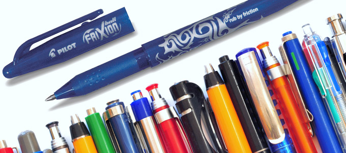 Produkttest Pilot Frixion Tintenroller Introbild