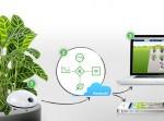 ´Office-Trends von der CeBIT 2012 – Koubachi Pflanzensensor