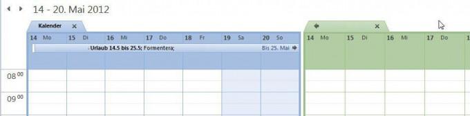 Urlaubsplanung im Team mit Outlook Schritt 7