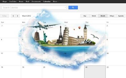 Urlaubsplanung mit Google