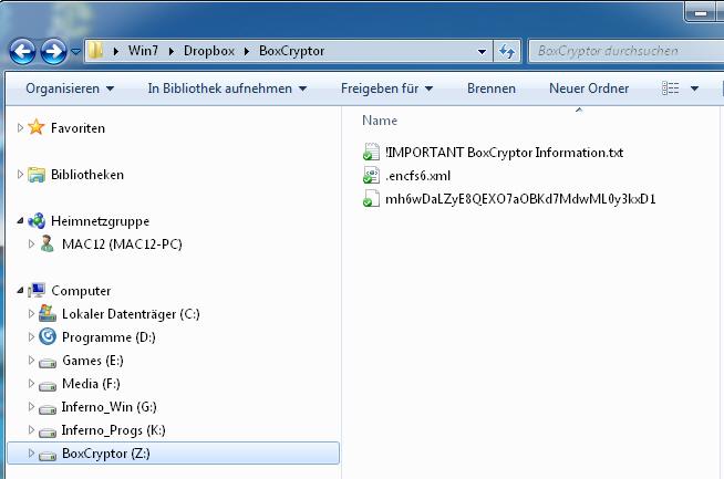 Dropbox Daten mit Boxcryptor verschlüsseln
