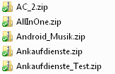 Hinzufügen von Dateien in den Dropbox-Ordner