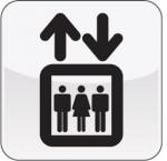 Piktogramm Aufzug
