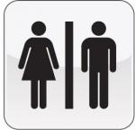 Piktogramm WC Damen | Herren