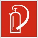 Piktogramm Feuerlöscher