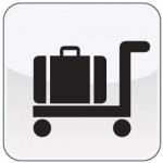 Piktogramm Kofferwagen