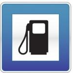 Piktogramm Tankstelle