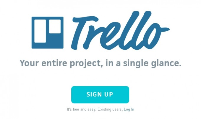 Trello Projektmanagement - Sign up