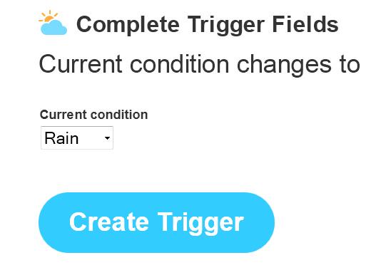 IFTTT – Trigger definieren