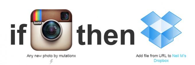 IFTTT – Beispiel Instagram