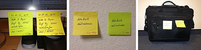 Post-it Super Sticky Notes 654-S von 3M