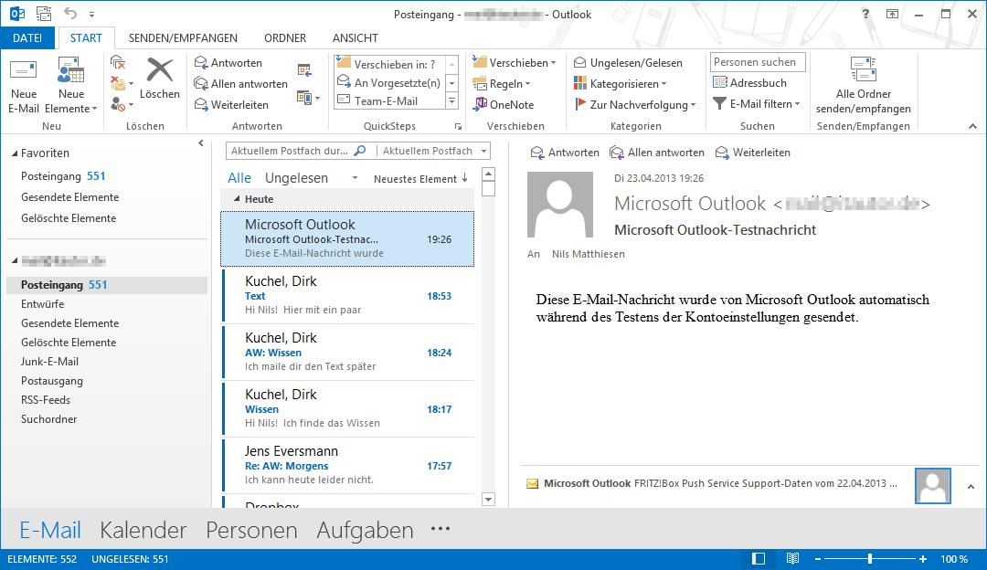 MS Outlook_neue Optik