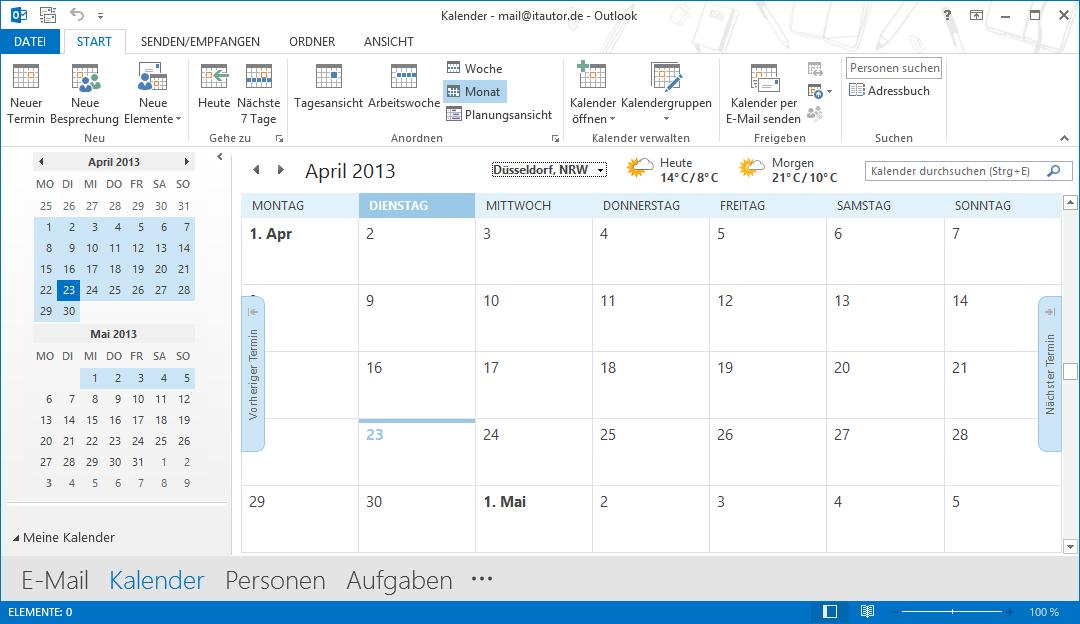 MS_Outlook_Wetteranzeige