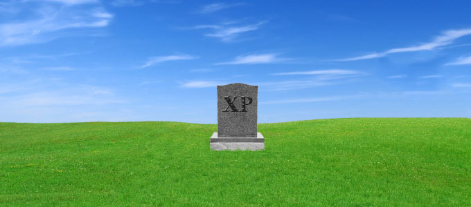 Windows XP am Ende