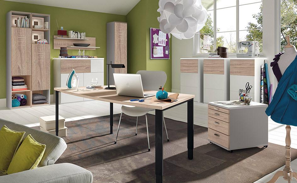 Farbe im Büro: Die Wirkung von Farbe auf das Wohlbefinden