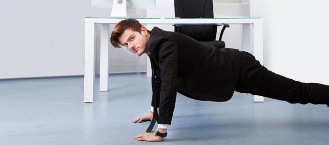 Fitness Im Büro Vier Tipps Für Einen Gesunden Arbeitsalltag