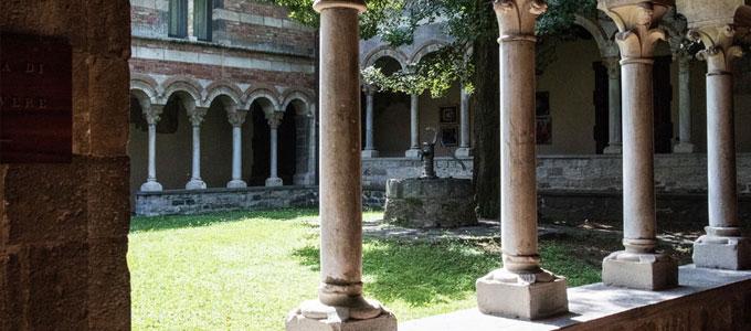 Ein Wochenende im Schweigekloster - die spirituelle Auszeit / auf dem Foto: Piona Abtei in der Nähe des Comer Sees.