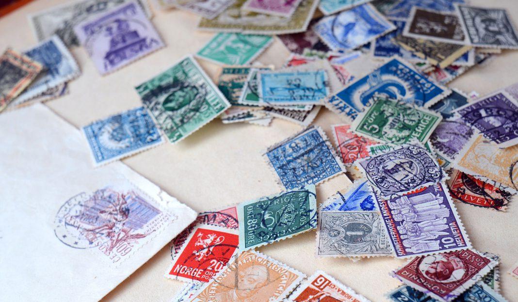 Eine Auswahl an wertvollen Briefmarken